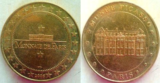 Monnaie de Paris. Jeton10