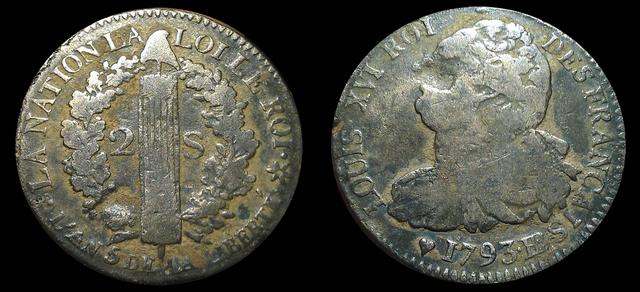 2 sols 1793 BB  Loulou10