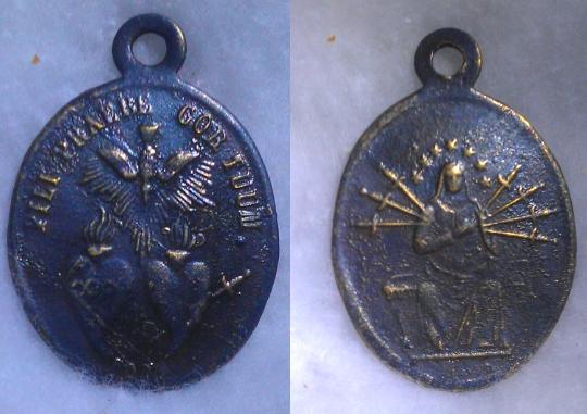 Médaille notre dame des sept douleurs XIXè Med10