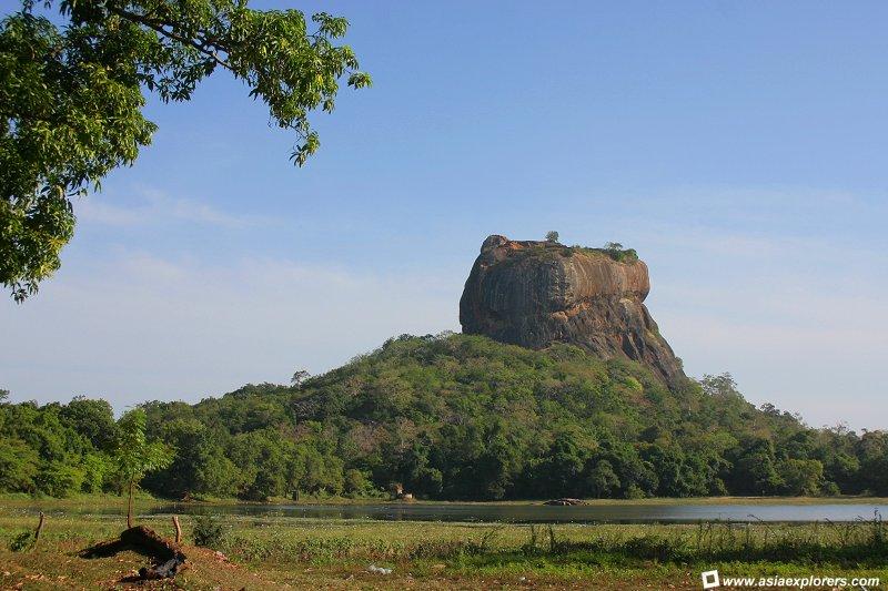 Sigiriya - Le Roc du Lion - Sri-Lanka - Ceylan. 0110