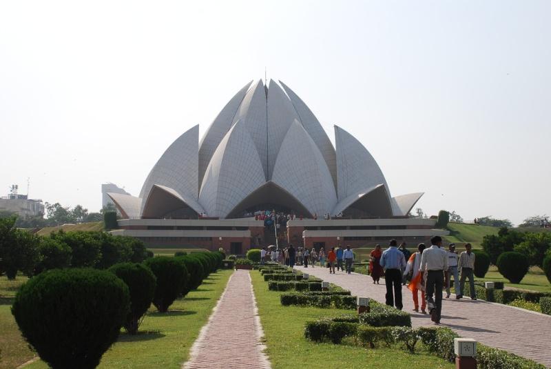 Le Temple du Lotus à Delhi, Inde 15520810