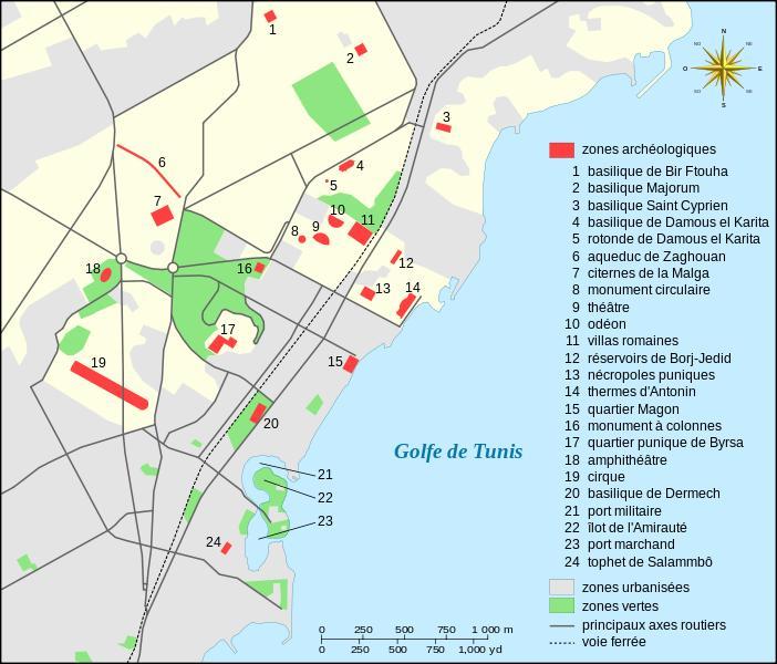 Colline de Byrsa - Carthage - Tunisie 702px-10