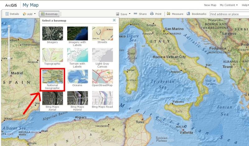 Cartes d'ArcGIS en overlay sur Google Earth Arcgis10