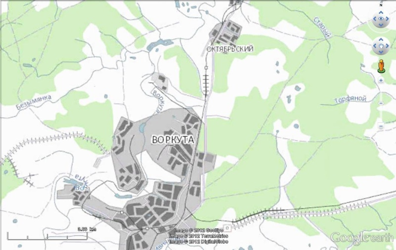 Cartes d'ArcGIS en overlay sur Google Earth Arcgis14