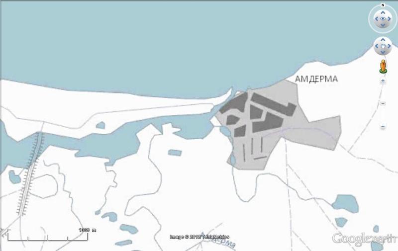 Cartes d'ArcGIS en overlay sur Google Earth Arcgis15
