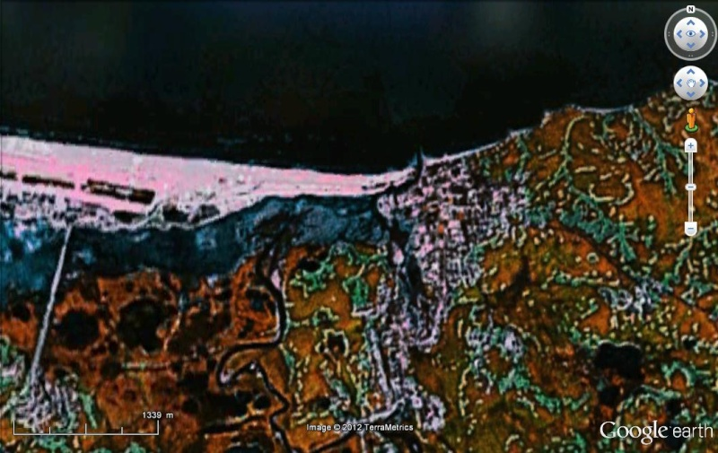 Cartes d'ArcGIS en overlay sur Google Earth Arcgis16