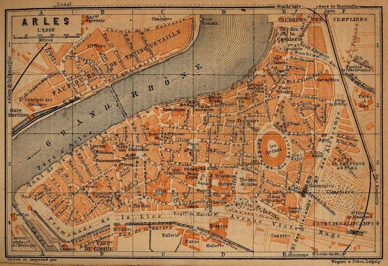 Cartes et plans anciens. - Page 4 Arles_10