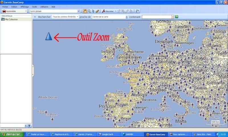 BASECAMP et Google Earth Baseca10