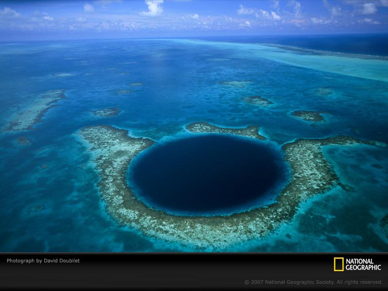 TROUS BLEUS & Cenotes  / Trou Marin / Trou Bleu / Blue Hole / Monde Belize10