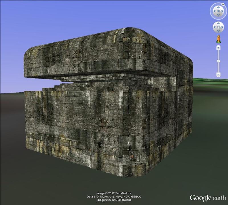 INTERIEUR des bâtiments avec Texture 3D [Sketchup] Bunker10