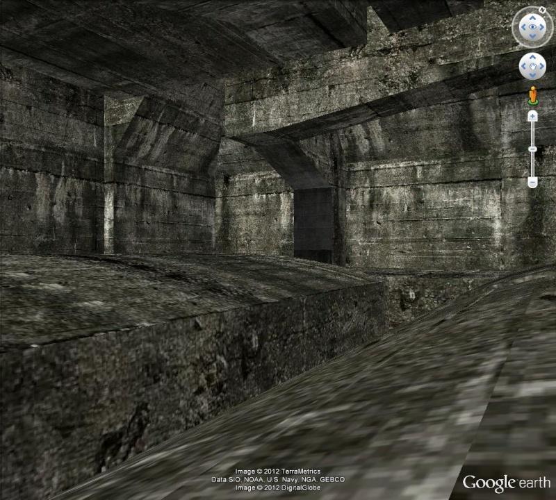 INTERIEUR des bâtiments avec Texture 3D [Sketchup] Bunker11