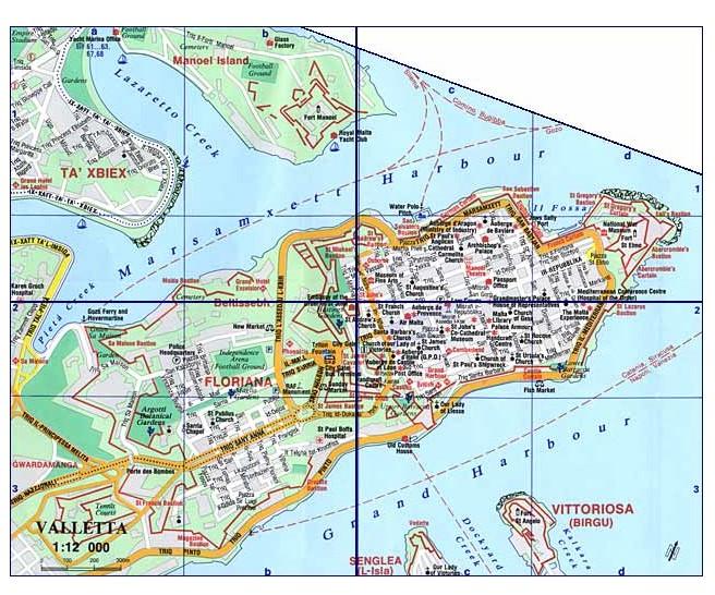Services de cartographie en ligne lequel choisir page 8 for Plan de malte