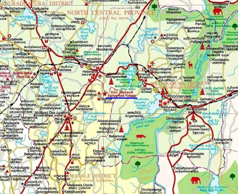 Sigiriya - Le Roc du Lion - Sri-Lanka - Ceylan. Captu203