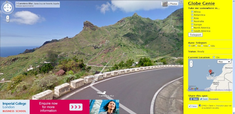 Globe Genie : Une application Street View originale Captu242