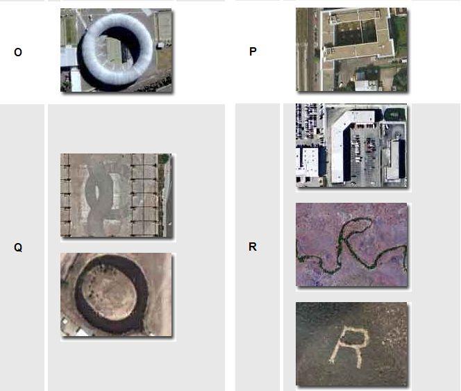 Alphabet de Google Earth Captu256