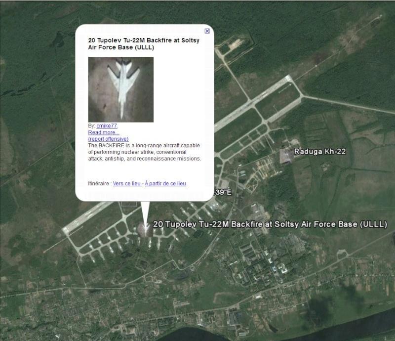 Aéroport de Sol'tsy - Russie - Tupolev Tu-22M Captu285