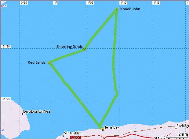Les Forts Maunsell- Principauté de Sealand - Mer du Nord - UK Captu287