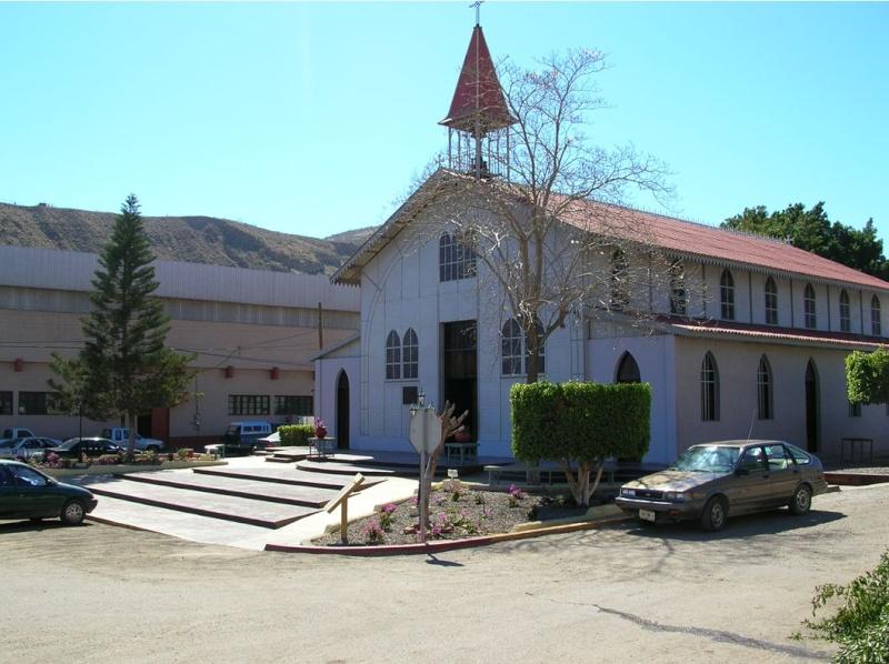 [Mexique] - Eglise d'Eiffel - Santa Rosalia Captu342