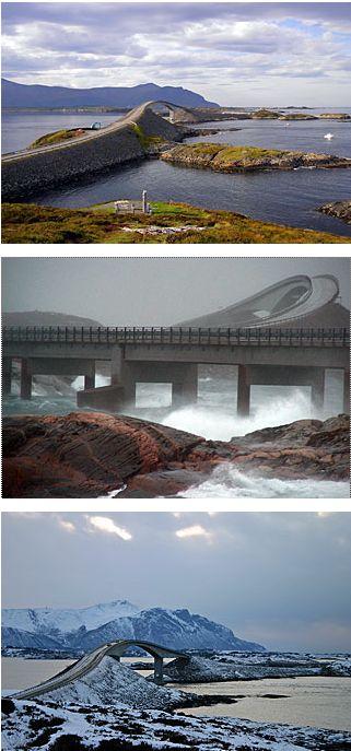 Route de l'Atlantique (atlanterhavsveien) - Norvège Captu347