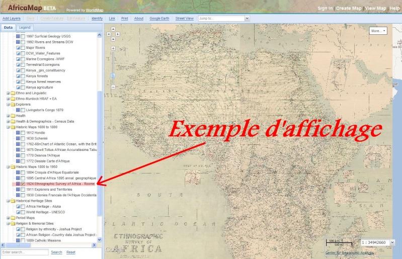 AFRICA MAP - Université Harvard Captu371