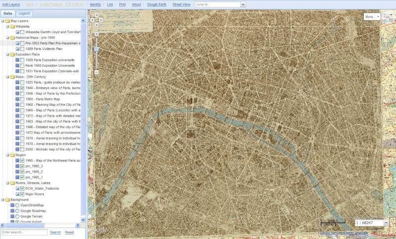PARIS MAP - Université Harvard Captu375