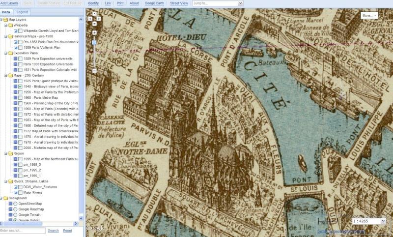 PARIS MAP - Université Harvard Captu376