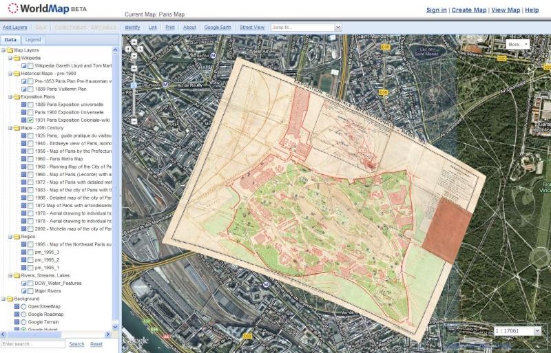 PARIS MAP - Université Harvard Captu378