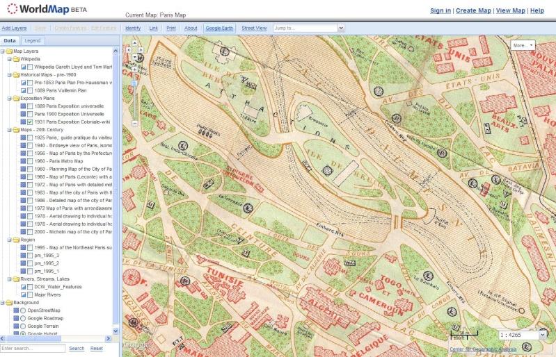 PARIS MAP - Université Harvard Captu379
