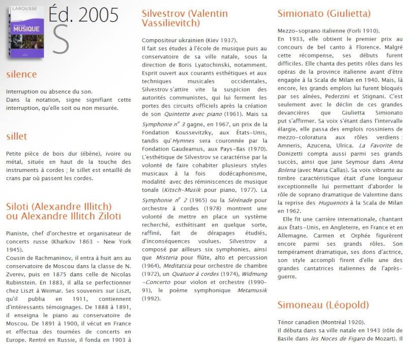 Larousse : Dictionnaire de la Musique Captu396