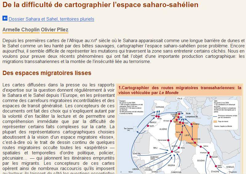 La revue géographique MAPPEMONDE Captu460