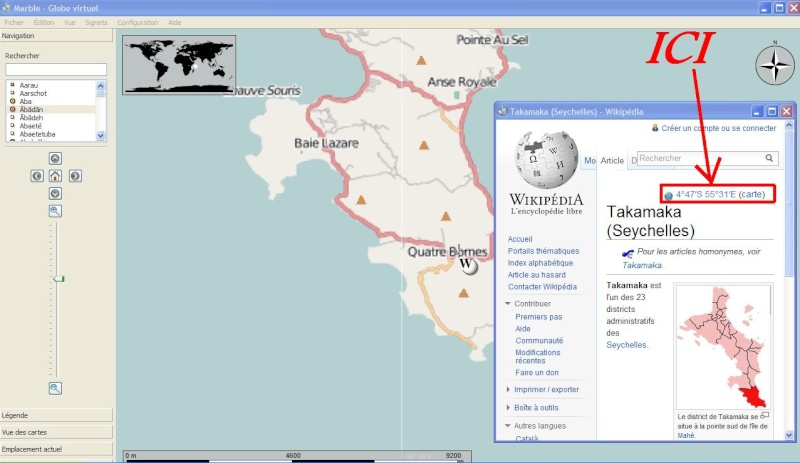 MARBLE VIRTUAL GLOBE - KDE Education Project Captu483
