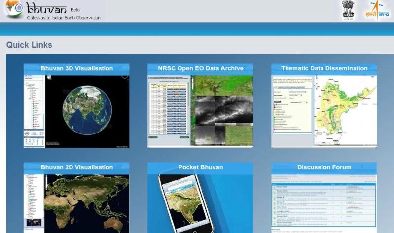 BHUVAN Un Google Earth made in India Captu577