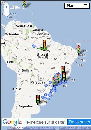 Street View : Rive du Rio Negro - Brésil Captu580