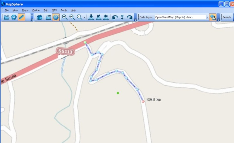 MapSphère : une alternative à Google Earth Captu636