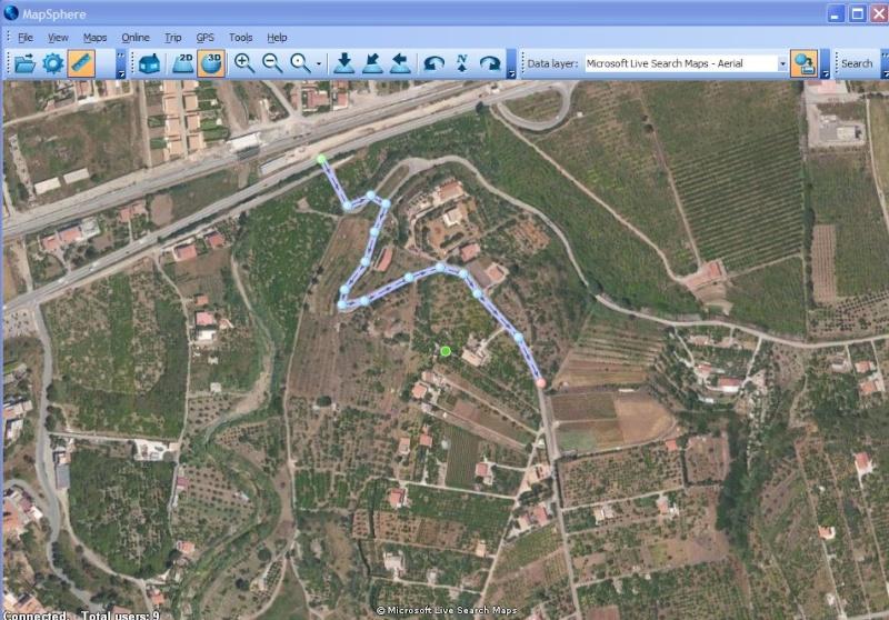 MapSphère : une alternative à Google Earth Captu637