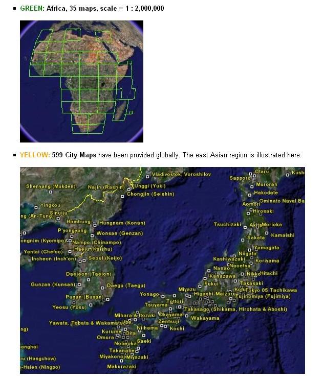 Cartes de l'U.S. Army [Surcouche / Overlay pour Google Earth] Captur24