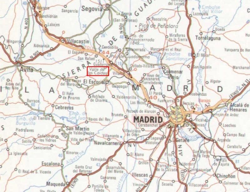 El Valle de Los Caídos, Banlieue de Madrid, Espagne. Captur78