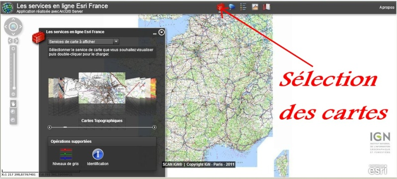 Les Services de ESRI FRANCE (Version 3) Esri110