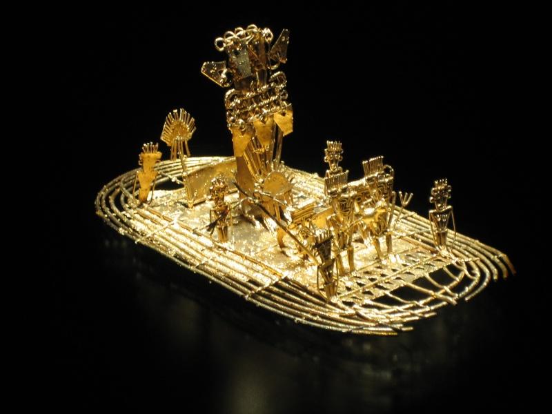 Museo del Oro - Bogota - Colombie Fab20011