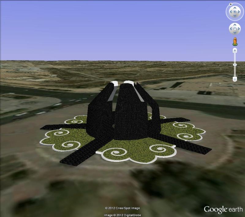 INTERIEUR des bâtiments avec Texture 3D [Sketchup] Flamex10