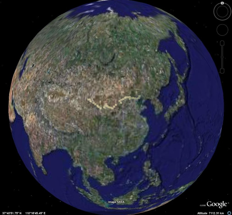 La Grande Muraille - Chine - Page 2 Map110