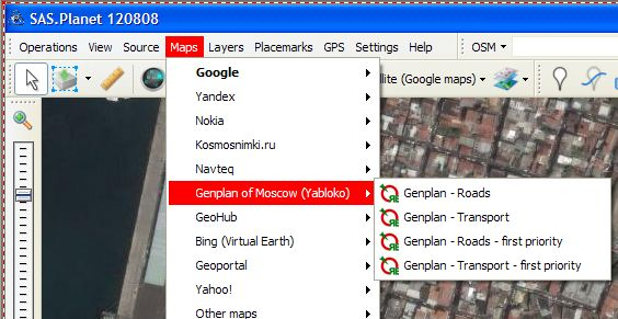 SAS Planet et Google Earth Map113