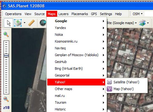 SAS Planet et Google Earth Map117