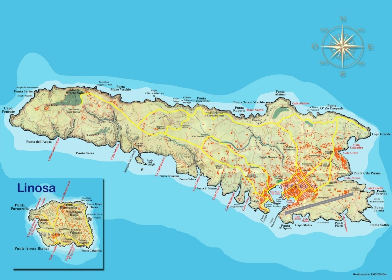 Effet d'optique, ile de Lampedusa, Italie Mappa_10