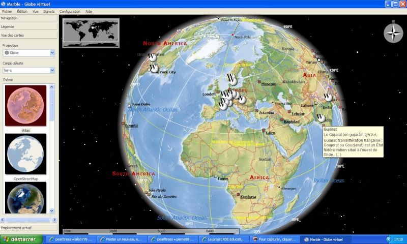 MARBLE VIRTUAL GLOBE - KDE Education Project Marble10