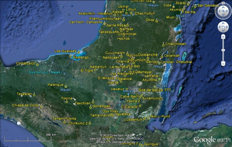 SAS Planet et Google Earth Maya10