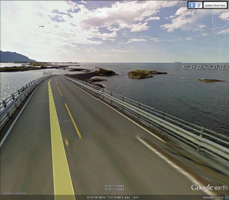 Route de l'Atlantique (atlanterhavsveien) - Norvège N110