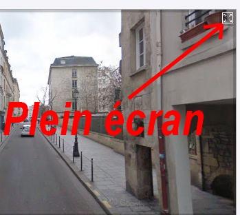 RUES DE PARIS : INDEX et STREET VIEW Paris013