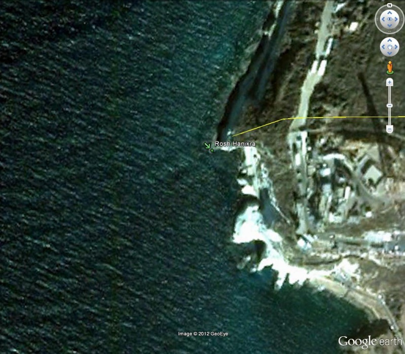 [Israël] - Cap Hanikra - Frontière Israel / Liban  Rosh_h10