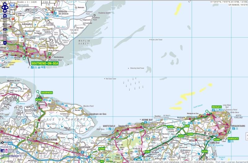 Les Forts Maunsell- Principauté de Sealand - Mer du Nord - UK Shiver10